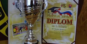 Titul Škola roka opäť patrí ZŠ Okružná 17 v Michalovciach