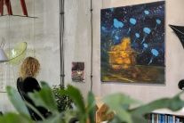 výstava, Farby noci, Alena Anderlová, Daniel Bruno