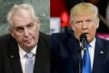 Trump sa so Zemanom nestretne. Prioritou je severokórejská kríza