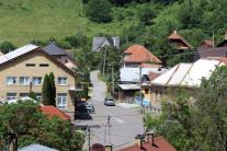 Vypálená obec Kľak
