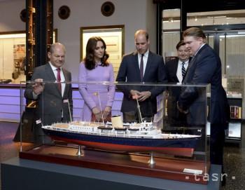 FOTO: Princ William s manželkou Kate a deťmi ukončili návštevu Nemecka