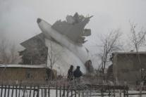 VIDEO: V Kirgizsku našli čiernu skrinku tureckého nákladného lietadla