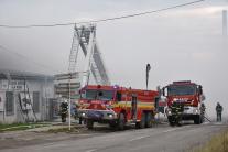 Zásah hasičov pri požiari