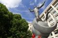 V Dúbravke sa pokračuje s čistením sôch na verejných priestranstvách