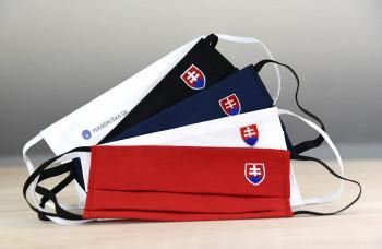 Exkluzívny balíček ochranných rúšok so znakom Slovenska pre každého