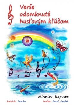 Do života uviedli novú detskú knihu Verše odomknuté husľovým kľúčom