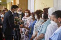 Premiér a minister zdravotníctva sa poďakovali ses