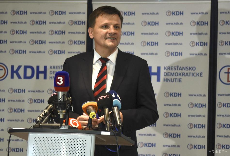 A. Záborská navrhne disciplinárne stíhanie predsedu KDH