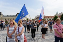 Protest, Za slušné Slovensko, Nitra