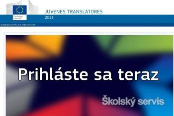 Stredoškoláci sa opäť môžu zapojiť do prekladateľskej súťaže EÚ