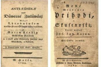 SNK zdigitalizovala Bajzov román René mládenca príhody a skúsenosti
