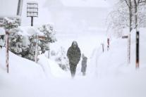 Poriadna snehová nádielka