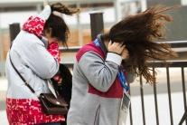 V Pjongčangu fúka silný nárazový vietor