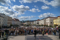 Klimatický štrajk v Banskej Bystrici