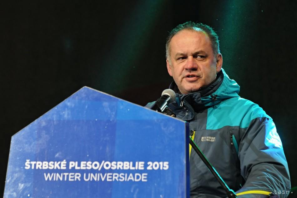 Prezident Andrej Kiska otvoril 27. Svetovú zimnú univerziádu