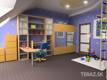 Psychologička: Izba školáka má byť zariadená podľa určitých pravidiel