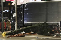 Berlín, kamión, terorizmus, útok