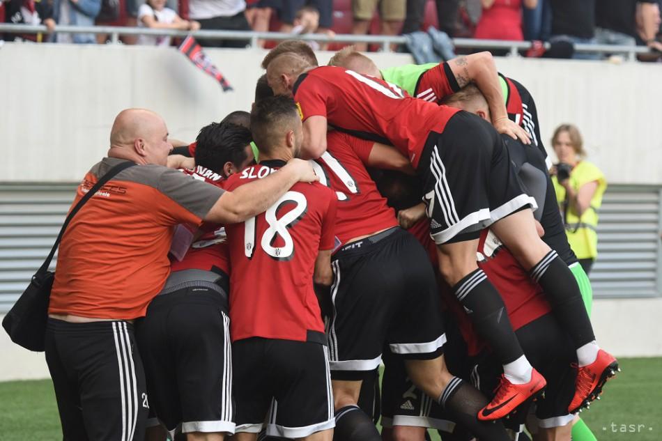 9489549fd7f98 VIDEO: Spartak Trnava po 45 rokoch oslavuje majstrovský titul