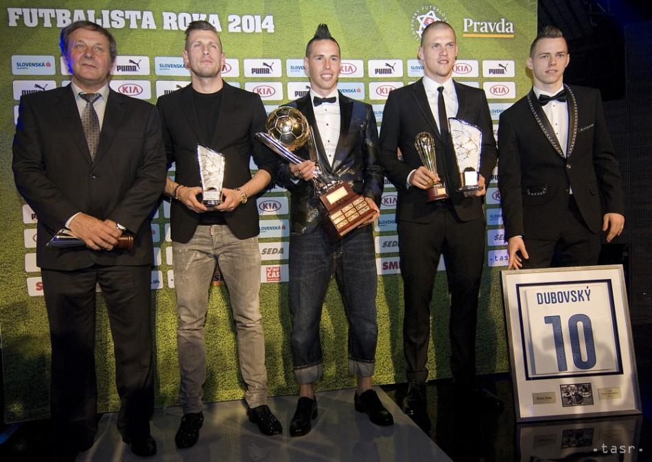 339d58589b2b0 Hamšík je najlepším futbalistom SR za rok 2014, má štvrtý titul