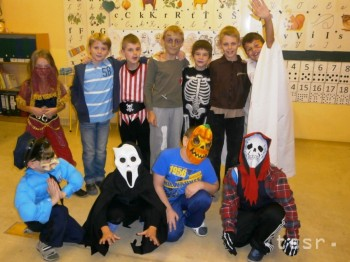 Halloween – Noc v škole