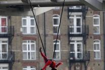 Vystúpenie Extreme dancers v Londýne