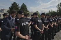 Odchod policajtov na maďarsko-srbskú hranicu