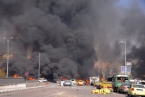 Izrael zaútočil na leteckú základňu sýrskej armády pri Damasku