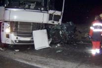 Nehoda kamiónu