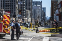 Toronto, útok, Kanada, polícia, obete