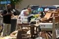 Obama navštívil povodňami zničené mesto Baton Rouge v USA