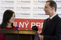 Radoslav Procházka počas TK s manželkou
