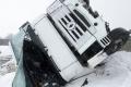 Po zrážke kamiónu s autom pri Brezinách zostal mŕtvy vodič