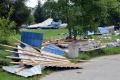 Občania nahlasujú škody značného rozsahu spôsobené búrkami