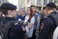 Pochody proti Putinovej kandidatúre sa konali napriek úradnému zákazu