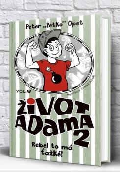 Vychádza pokračovanie knižky pre teenagerov Život Adama 2
