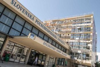 Nitra: SPU vyčerpala na rekonštrukciu internátov vyše pol milióna eur
