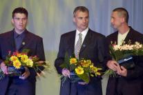 Róbert Pukalovič (v strede)