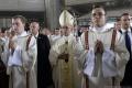 Pápež František pokračoval dnes v nabitom programe návštevy Poľska