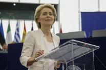 Ursula von der Leyenová v Európskom parlamente