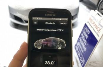 VIDEO: Rozmrazovanie čelného skla aplikáciou v mobile