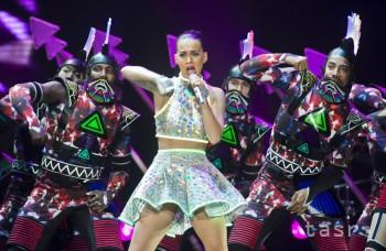 Katy Perry predviedla v Bratislave pravú americkú šou