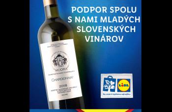 LIDL podporuje mladých slovenských vinárov