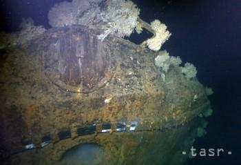 Slávnu japonskú vojnovú loď Musaši zrejme roztrhol podmorský výbuch