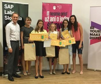 Tím dievčat z Trenčína ovládol finále Scratch Match 2018