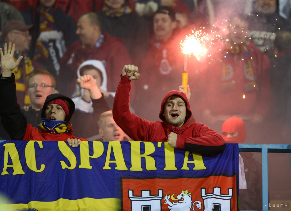 Slovan dobyli najskôr sparťanskí chuligáni a potom športovo Sparta
