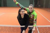 Chantal Škamlová (vľavo)