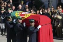 Portugalsko Lisabon Mário Soares rozlúčka