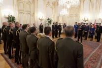 Menovanie generálov Ozbrojených síl a Policajného