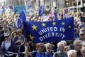Odporcovia brexitu demonštrovali v uliciach Londýna a Edinburghu