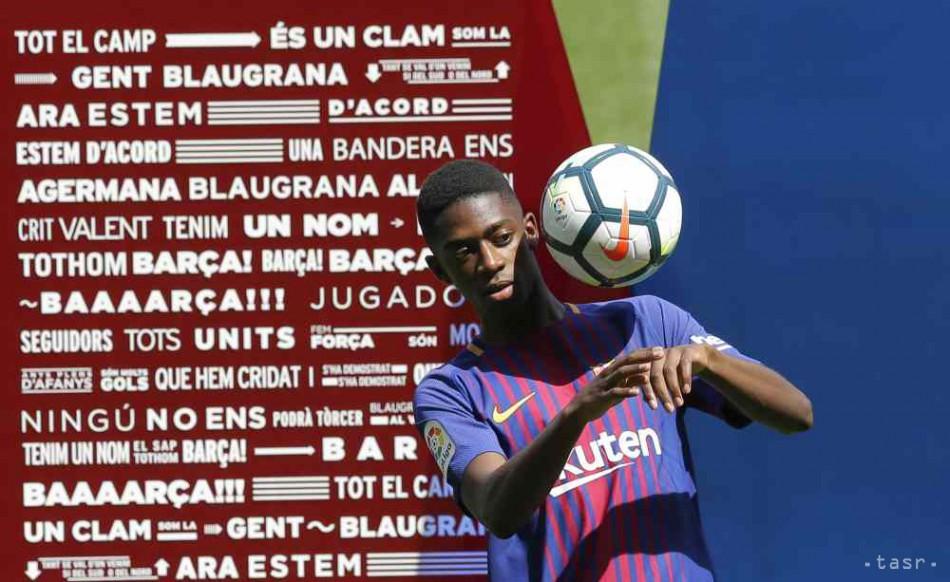 27a80a993f63a Dembélé sa opäť zranil, Barcelona s ním nemôže počítať 3-4 týždne